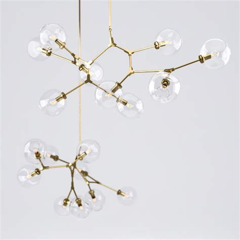 Branching Bubble Lights Chandelier