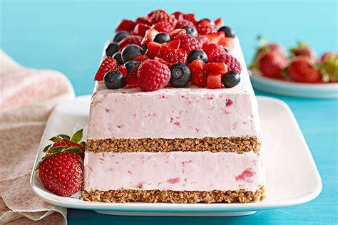 Frozen Desserts berry frozen dessert kraft recipes