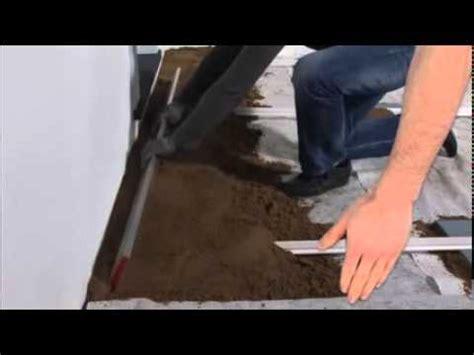 installer une terrasse avec des dalles b 233 ton castorama