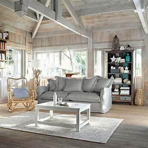 tapis en coton et jute 160 x 230 cm maison du monde With tapis kilim avec canape en rotin maison du monde