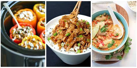 supper suggestions 40 healthy crock pot recipes