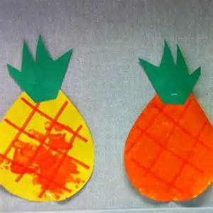 pineapple crafts for searchya search results 590 | c0408ce42782dc52265cb068108930c1 pineapple craft preschool crafts