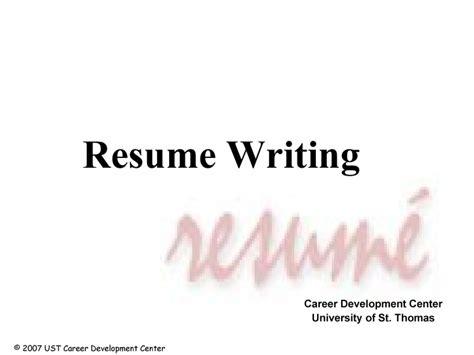 resume webinar