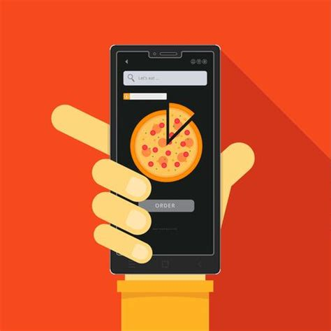 food app icon  food mobile order
