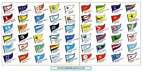 Boat Flags And Pennants Uk by Broadland Memories Boatyards And Boats