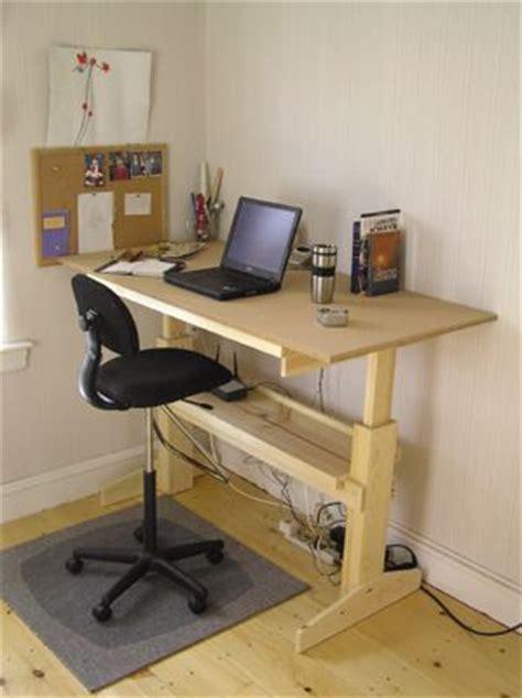 diy standing desk images  pinterest