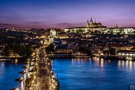 Life Light by Night Prague By Orangeroom On Deviantart