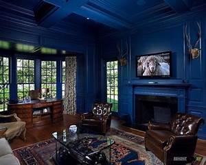 Dark Blue Interior Designs
