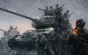 Company Of Heroes 2 Game Wallpaper