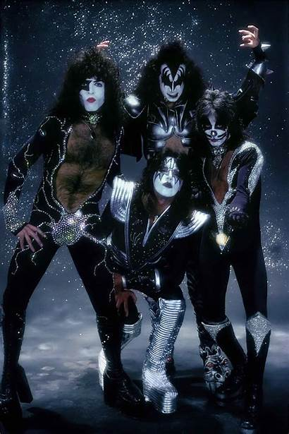 Kiss Band Rock Wallpapers Iphone 1976 Destroyer