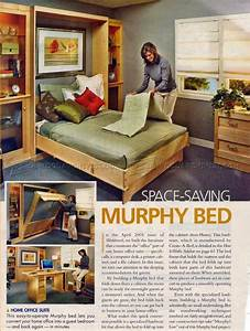 Woodworking Plans Murphy Bed With Creative Creativity