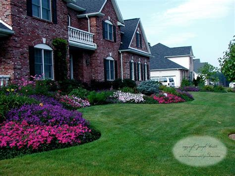 traditional front yard landscaping front yard planting design traditional landscape new york by summerset gardens joe weuste