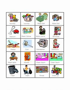 Preschool Chore Chart Preschool Kids Chore Chart Template Free Download