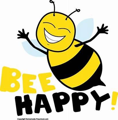 Bee Clipart Preschool Homemade Clip Happy Bees