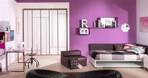 d馗oration chambre fille décoration chambre fille violet chambre de fille