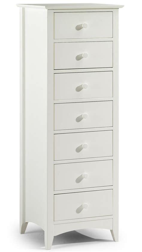 narrow white dresser white lacquered finish narrow chest of 7