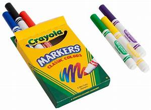 6-Pack Crayola Markers - Bargains Group