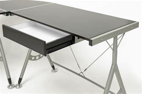 Modern Computer Desk L Shaped by Baxton Studio Elburn Brown L Shaped Modern Computer Desk