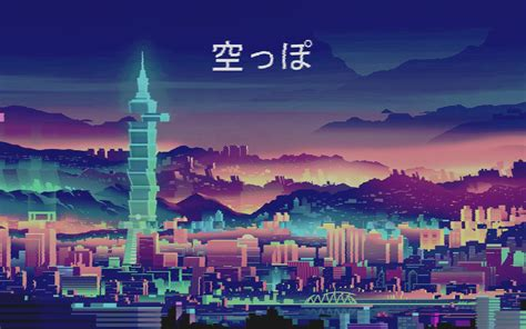 80s Neon City Wallpaper by 80 S Wallpapers Top Free 80 S Backgrounds Wallpaperaccess