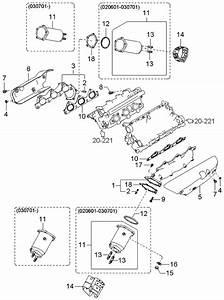 2003 Kia Sorento Exhaust Manifold