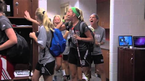 womens lacrosse locker room reveal youtube