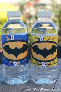 free batman printables your little superheroes will love With batman water bottle labels