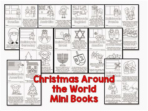 christmas around the world for preschoolers around the world and a freebie 627