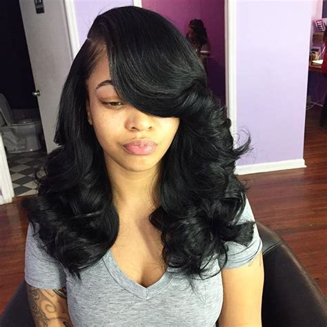 Sew In Hairstyles For Teenagers by 15 Curly Weave Hairstyles For And Hair Types