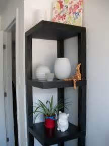 ikea lack table hack to corner shelf minimalist desk