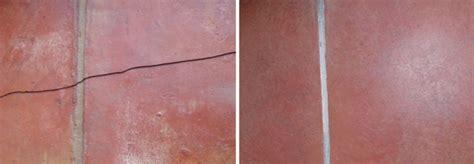 cracked terracotta tile repair