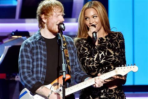 Beyoncé Links Up With Ed Sheeran For