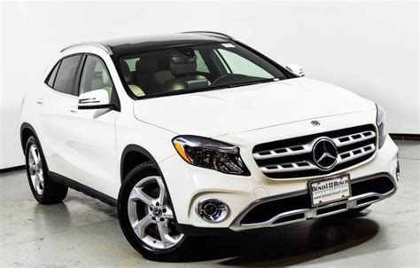 Request a dealer quote or view used cars at msn autos. 2018 Mercedes-Benz GLA 250 4MATIC SUV | Cirrus White U15431