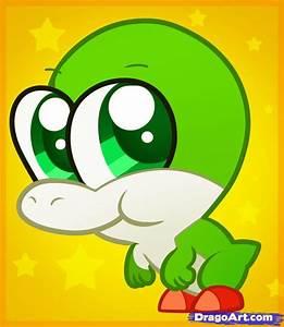 Learn How to Draw Chibi Yoshi, Chibis, Draw Chibi, Anime ...