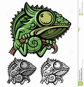 Chameleon Cartoon Character Royalty Free Stock Images ...