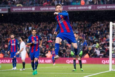 barcelona  sevilla  la liga final score