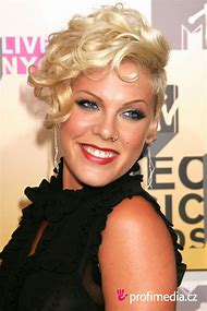 Singer Pink Short Hairstyles