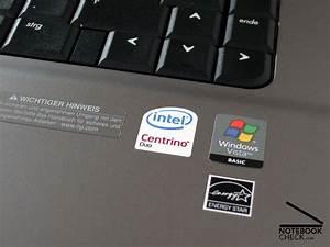 Test HP Compaq 6720s Notebook - Notebookcheck.com Tests