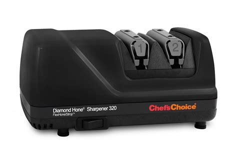 chefs choice model  electric knife sharpener  stage black cutlery