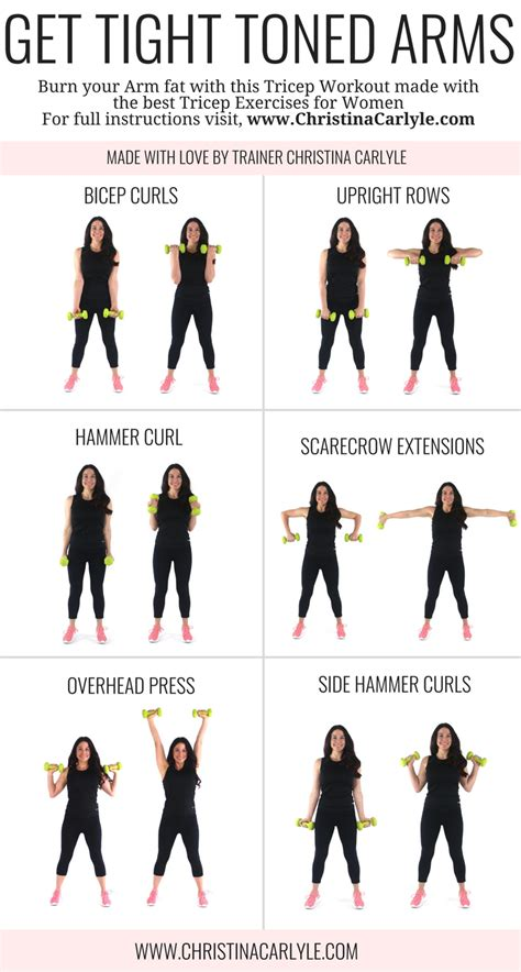 arm workout  women  arm exercises  women