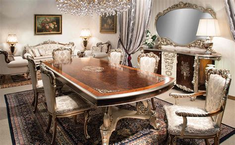 Modern Dining Room Sets With China Cabinet by High End Italian Furniture Dining Room Set