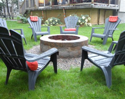 How To Build Your Very Own Stone Fire Pit