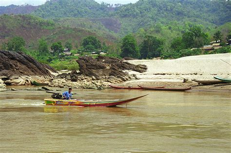 Speed Boat Laos by Mekong River Laos Travel Photos Hey Brian