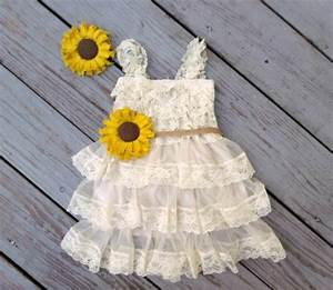 sunflower flower girl dress sunflower wedding sunflower With sunflower dresses for wedding