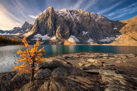 Wallpaper Canada Alberta Mountains Nature Water
