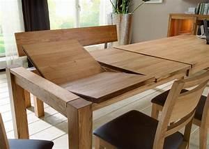 Eiche Massiv Tisch : esstisch tisch esszimmertisch esszimmer auszug eiche massiv ge lt natur kaufen bei saku system ~ Eleganceandgraceweddings.com Haus und Dekorationen