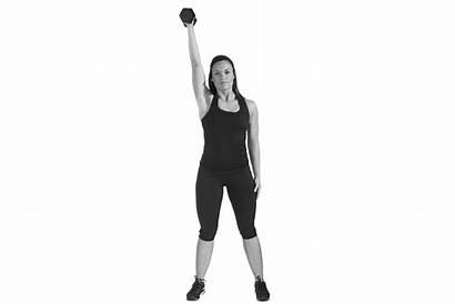 Exercises Upper Dumbbells Arm Press Dumbbell Push