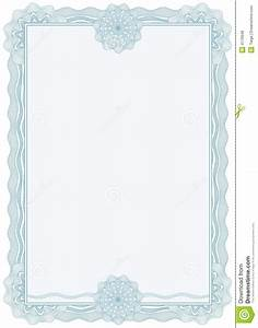 Diploma Or Certificate / Border / A4 / Vector Stock Vector ...