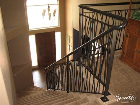 custom design railing long grass pascetti steel design