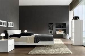 Graue Tapete Schlafzimmer : 50 graue designs ~ Michelbontemps.com Haus und Dekorationen