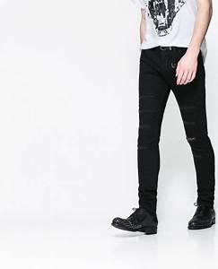 Zara Ripped Skinny Jeans in Black for Men | Lyst
